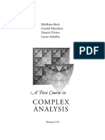 A First Course on Complex Analysis.pdf