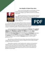 Datos Biográficos de Alejandro Tapia y Rivera