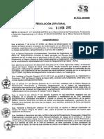 RJ 021-2012-SIS - Adicionar Al Manual Clasificador de Cargos Del SIS