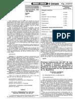 DS 046-2003-EF - Politica Remunerativa Del SIS