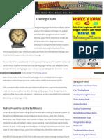 Belajar Forex Umum Tips Strategi Waktu