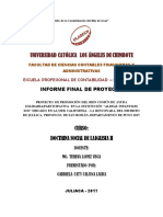 Doctrina Informe Final