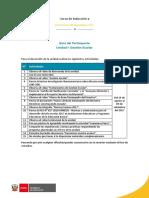 Guía Del Participante U1