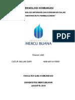jurnal teknologi komunikasi