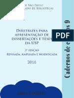 Diretrizes Para Apresentação de Dissertações e Teses Da USP_ Parte I (2016)
