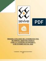 BASES 1er. Concurso de vivienda económica SEVIVE 2010
