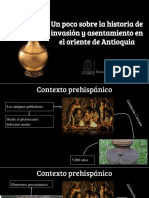 Unidad 2 Oriente de Antioquia Prehiapánico - Jessica Ramírez