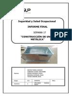 Construcción de Caja Metálica Trabajo Final Seguridad 2