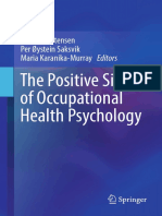 Positive Occupational Health Psychology