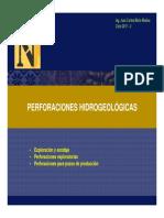 PERFORACIONES HIDROGEOLÓGICAS