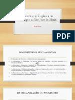 PDF Questões Lei Orgânica Do Município de São João de Meriti