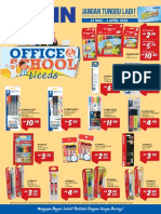 Office School Needs Promotion 15 March Until 1 April 2018 Hypermarket