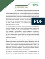 1. Conformacion Regional de Colombia