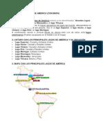 Principales Rios, Lagos y Montañas de America