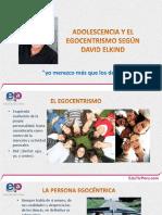 07. David Elkind _ El Egocentrismo Adolescente