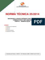 Nt 25 2014 Seguranca Contra Incendio Para Liquidos Combustiveis e Inflamaveis Parte 4 Manipulacao
