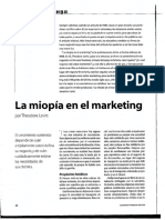 Miopia en El Marketing