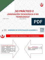 Caso Practico 2_innovacion Tecnologica y No Tecnologica