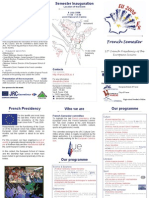 inauguration JRC semestre Francais EN