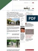 Socrul profesorului de la UMF vizat de atentatul cu bombă