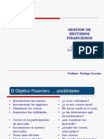 Clase 3 - Riesgo Financiero