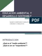 Educacion Ambiental y Desarrollo Sostenible