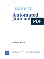 GRAEFE Guide to Automated Journalism