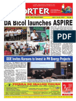 Bikol Reporter July 16 - 22, 2017 Issue