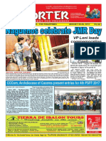 Bikol Reporter August 20 - 26, 2017 Issue