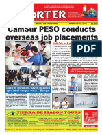 Bikol Reporter August 6 - 12, 2017 Issue