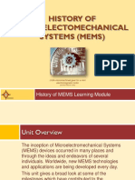 History of MEMS_Presentation