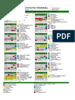 Calendário 2018 - Campus Maceió