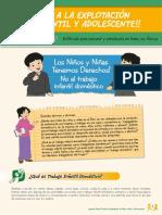 Cartilla Para Alumnos Alto a La Explotacion Infantil y Adolescentes