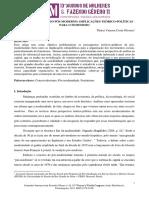 Neoconservadorismo Pós-moderno - Implicações Teórico-políticas Para o Feminismo - Thaisa Oliveira