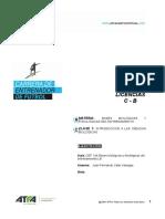 CEF Bases Biologicas y Fisiologicas Del Entrenamiento Clase 1 Ejercitacion