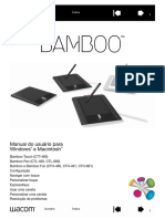 Manual Do Usuario Bamboo Fun Model CTH 461