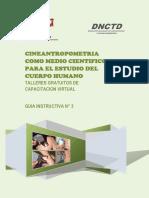 Modulo III - Cineantropometria Como Medio Cientifico Para El Estudio Del Cuerpo Humano (1)