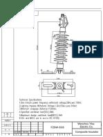Yika Electric FZSW33-8 Line Post Insulator