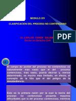 Clasificación Del Proceso No Contencioso