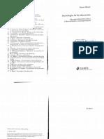 Bonal Xavier - Una Sociologia De La Educacion.pdf