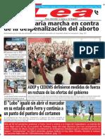 Periódico Lea Lunes 26 de Marzo Del 2018
