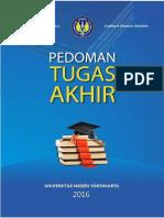 PEDOMAN TUGAS AKHIR UNY 2016.pdf