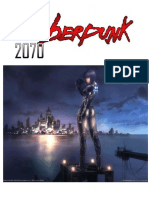 Cyberpunk 2070 Source Book