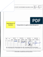 HSE-SOP-14 Transportation Logistics Safety Management