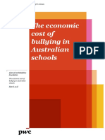 The economic cost of bullying in Australian schools