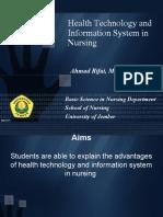 1. Teknologi Kesehatan Dan Sistem Informasi_material