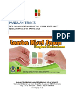 Panduan Teknis Proposal Lomba Ri