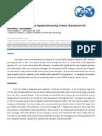 SPE-130726 - Updated EOR Screening Criteria