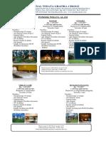 Pricelist 2018 Terminal Wisata Grafika Cikole
