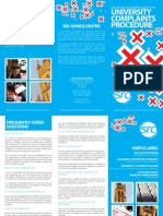SRC - University Complaints Procedure Leaflet